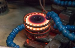 Induction hardening at Metals Engineering